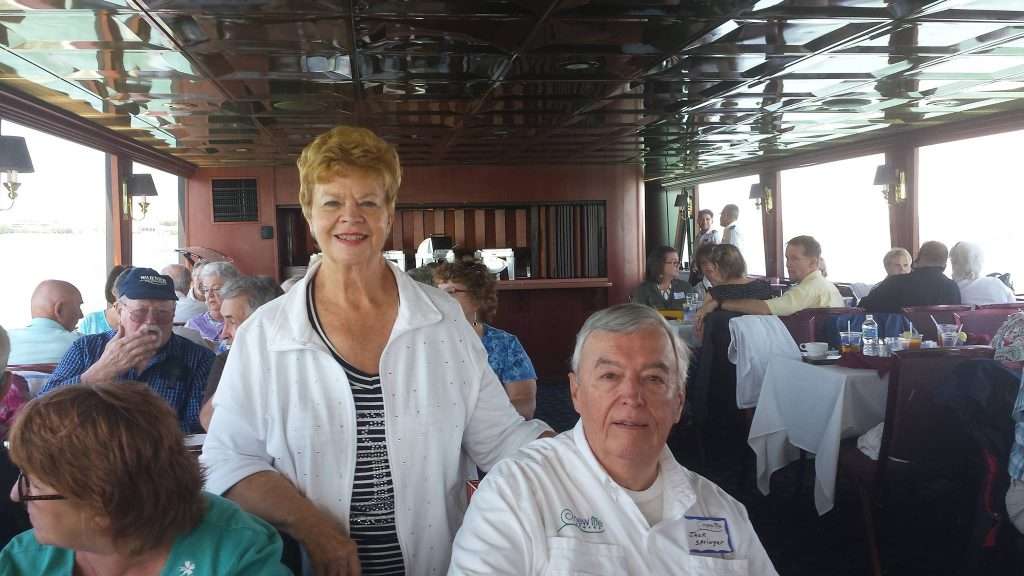 Jack & Judy on the Marina Jack II Cruise