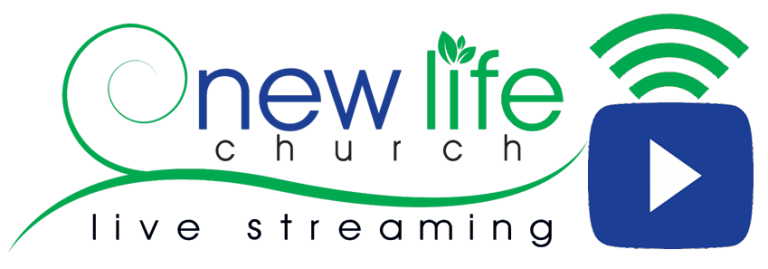 Logotipo de New Life Church para la transmisión en vivo