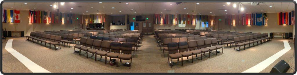 Sanctuary seating at NLC